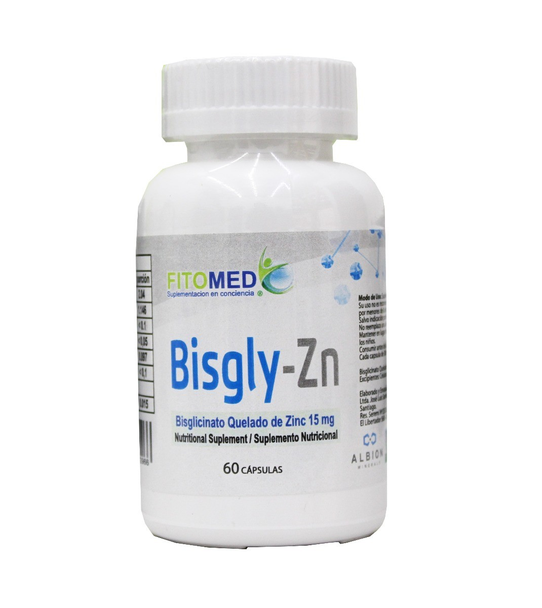 BISGLY-Zn 30 CAPS 300MG