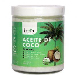 ACEITE DE COCO ORGÁNICO BROTA 500 GRS
