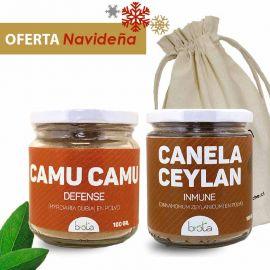 CANELA CEYLÁN + CAMU CAMU