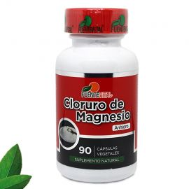 CLORURO DE MAGNESIO 500 MG X 90 CAPS.