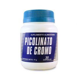 PICOLINATO DE CROMO 30 CAPS