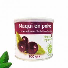 MAQUI EN POLVO 100 GRS NANUVA