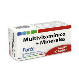 MULTIVITAMÍNICO + MINERALES 30 COMP