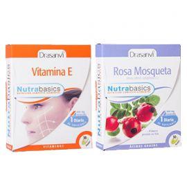 PACK VITAMINA E + ROSA MOSQUETA DRASANVI