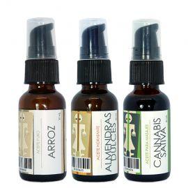 Pack de tres aceites naturales